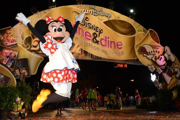 More than 14,000 runners competed in the final race of the 2013 runDisney season that made its way through Animal Kingdom, Hollywood Studios, ESPN's Wide World of Sports and concluded at Epcot.