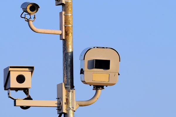 These speed cameras are on Franklin Street at Pulaski Street.