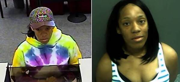 Winter Park bank robbery suspect Christl Ariana Williams-Daniels.