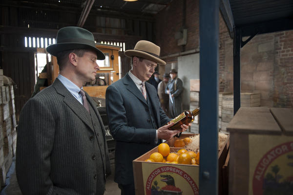 Shea Whigham and Steve Buscemi on 'Boardwalk Empire'