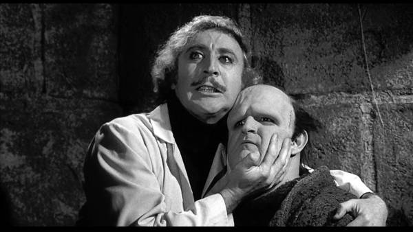"Gene Wilder and Peter Boyle in ""Young Frankenstein."""
