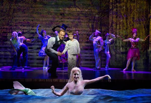 "A scene from the musical ""Big Fish"" at the Neil Simon Theatre in New York."