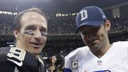 TV ratings: NBC football wins with Tony Romo-Drew Brees match-up