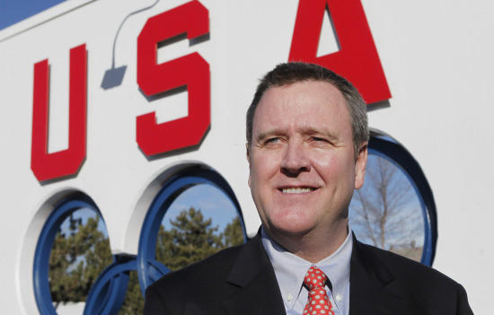 USOC chief executive Scott Blackmun.
