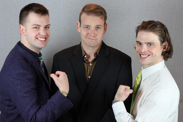 Left to right: Cody Melcher, Steven Lyons and Bryan Bowden of 'Just the FAQs'