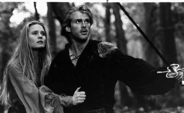 "Cary Elwes and Robin Wright appear in a scene from the 1987 movie ""The Princess Bride."""