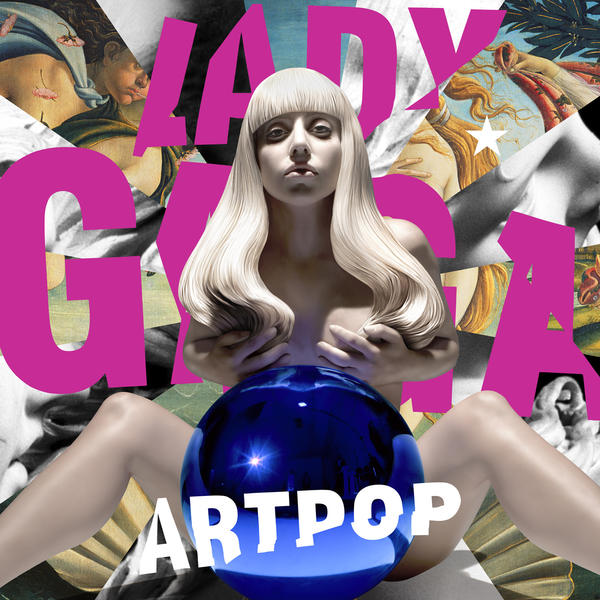 "Lady Gaga's new album, with a cover designed by Jeff Koons, is ""Artpop."""