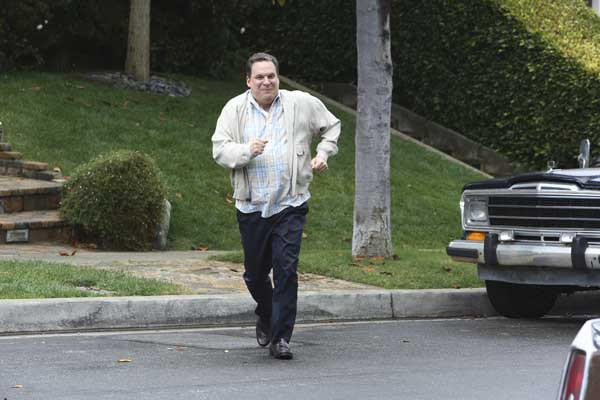 "New neighbors seem perfectly normal in a new episode of ""The Goldbergs"" on ABC. With Jeff Garlin."