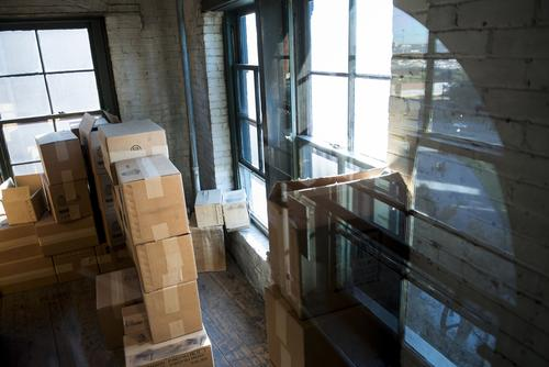 The corner window of the Sixth Floor Museum is where Kennedy's accused assassin is said to have taken his shot. The boxes are duplicates of the originals, stacked precisely as they appear in crime scene photographs from Nov. 22, 1963.