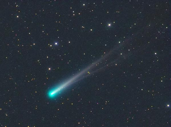 Comet ISON sprouts a double tail