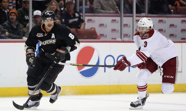 Teemu Selanne and the rest of the Ducks open a four-game road trip Tuesday against the struggling Florida Panthers.