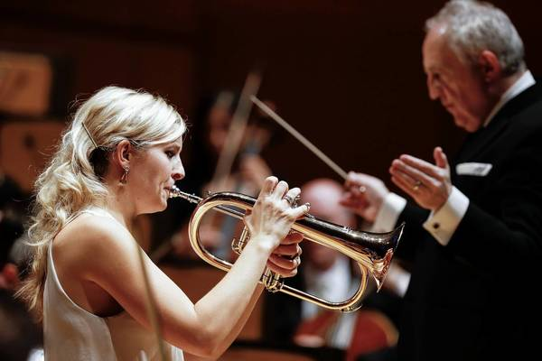 Alison Balsom plays with the L.A. Philharmonic, conducted by Bramwell Tovey.