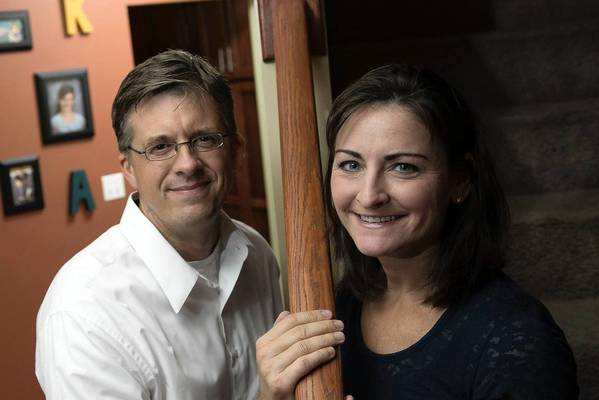 In late October, Cigna sent Katherine Gorski, of Lemont, shown with her husband, Paul, a letter denying her doctor's request for an MRI of one of her breasts.