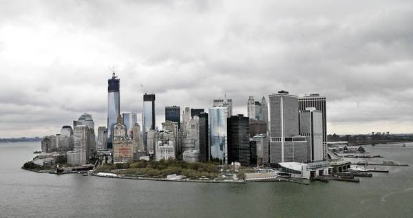 New York is among the coastal cities around the world that face a threat from rising sea levels caused by climate change, according to a report drafted by the United Nations-backed Intergovernmental Panel on Climate Change.