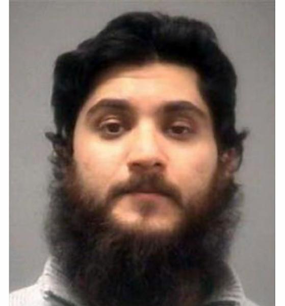 Basit Javed Sheikh, who was arrested on suspicion of trying to join the terrorist group Jabhat al-Nusrah.