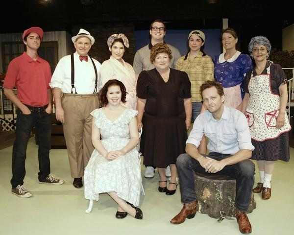 "The cast of ""Picnic"" at Westminster Community Theatre."