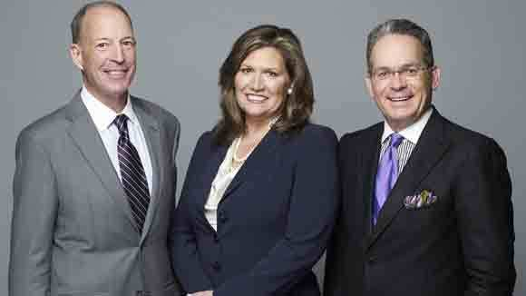 Chris Eigel, from left, Nancy Nagy and Michael Pierson will be president, CEO and chief financial officer, respectively, when Prudential Rubloff and Koenig & Strey merge as part of Berkshire Hathaway.
