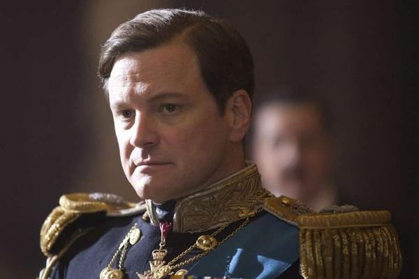 """Actor Colin Firth in his Oscar-winning portrayal of King George VI in """"The King's Speech."""" The film was given an R rating for its use of naughty words in spite of their non-naughty context."""
