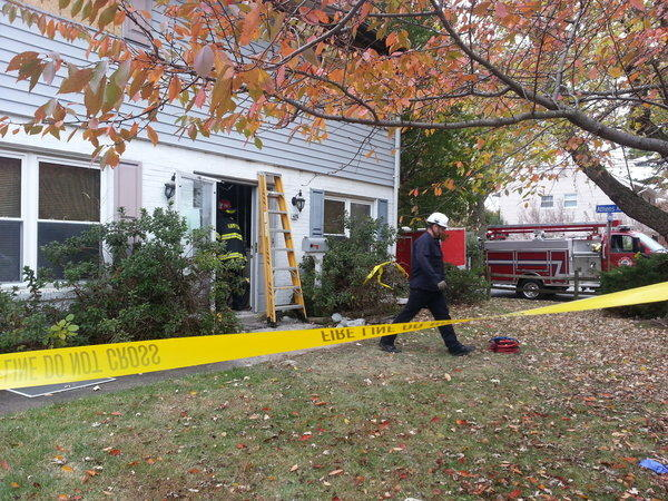 Hampton fire investigators returned to a house on Tuesday to seek more information to confirm the cause of a weekend fire there.