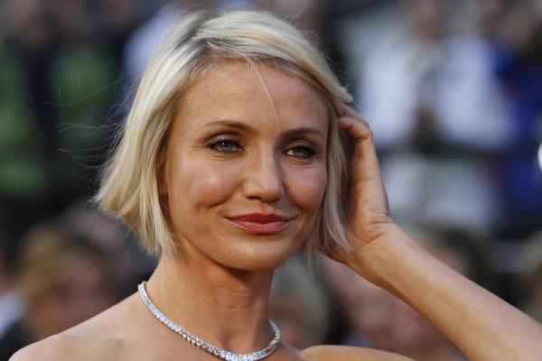 "Cameron Diaz at the 84th Annual Academy Awards show in Los Angeles. Diaz stars in the upcoming romantic comedy with the working title ""Basic Math."""
