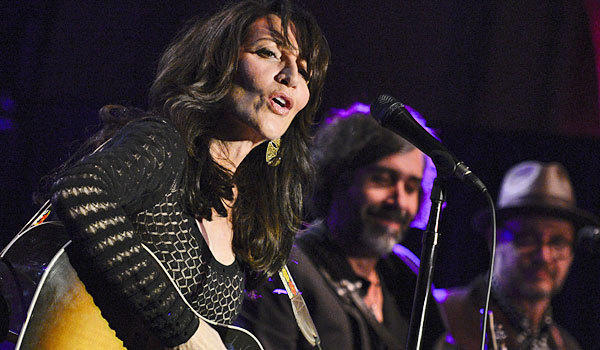 Katey Sagal at a live performance last month.