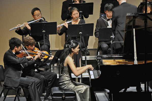 Hillary Lin Santoso, a senior at San Marino High School, will perform the first movement of Rachmaninoff's Piano Concerto No. 2 when the Glendale Youth Orchestra opens its 25th season at 7 p.m. Nov. 17 at the Alex Theatre.