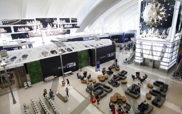 Airport spending, upward bound