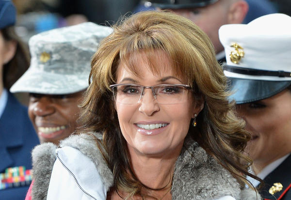 "Former Governor of Alaska Sarah Palin visits NBC's ""Today"" on Nov. 11 in New York."