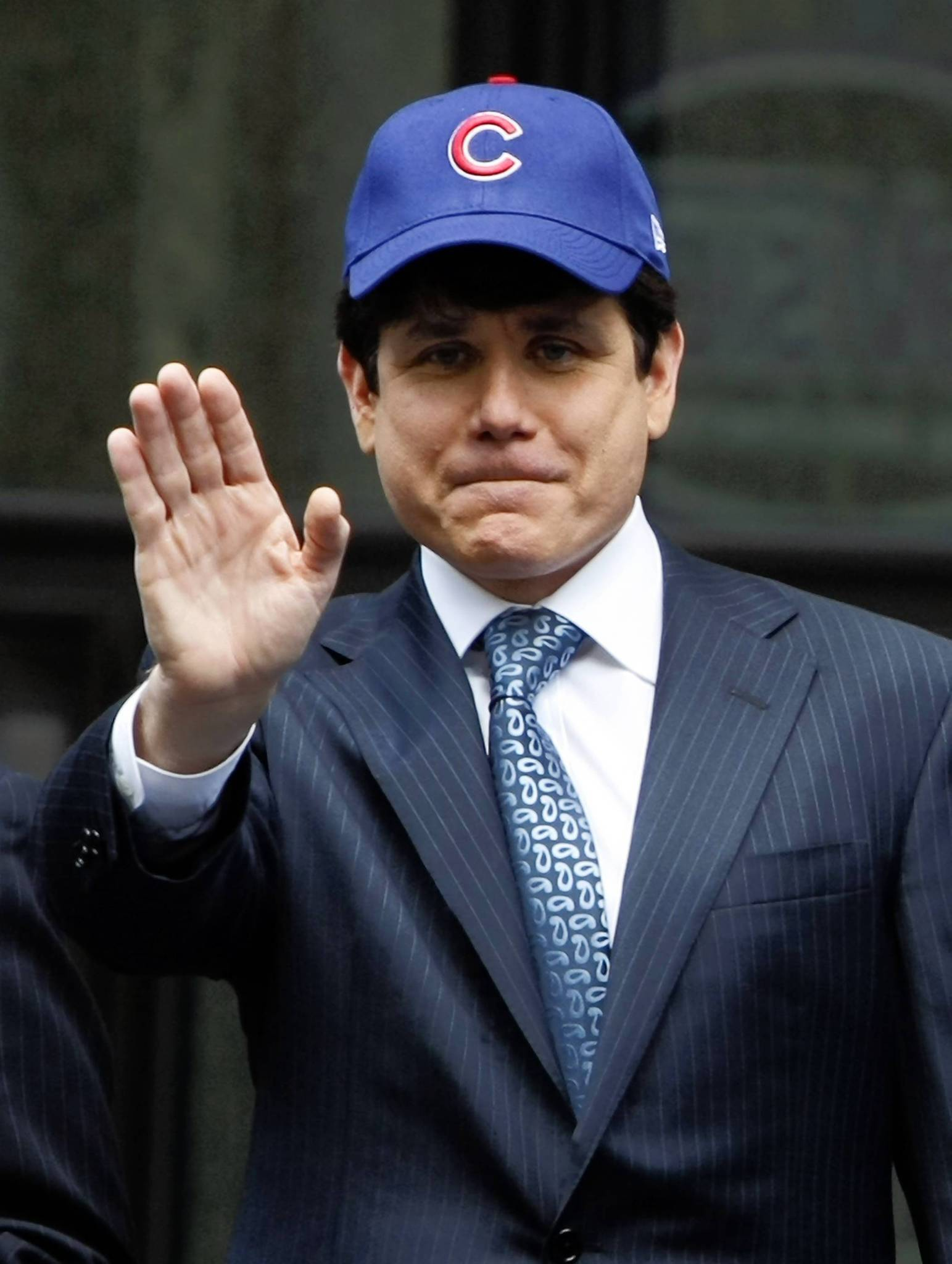"ROD BLAGOJEVICH:  As Illinois governor and self-proclaimed Cubs fan, ""Blago"" fanned the flames of hatred towards Bartman, calling his actions ""stupid"" and saying ""If he commits a crime, he won't get a pardon from this governor."" Blagojevich was later sentenced to prison for 14 years on 18 corruption convictions, including trying to sell Barack Obamas Senate seat after Obama was elected president in 2008."