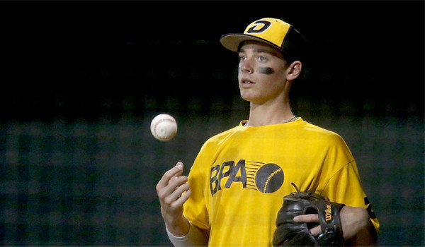 Hagen Danner, 14, a pitching prospect, has verbally committed to play baseball for UCLA.