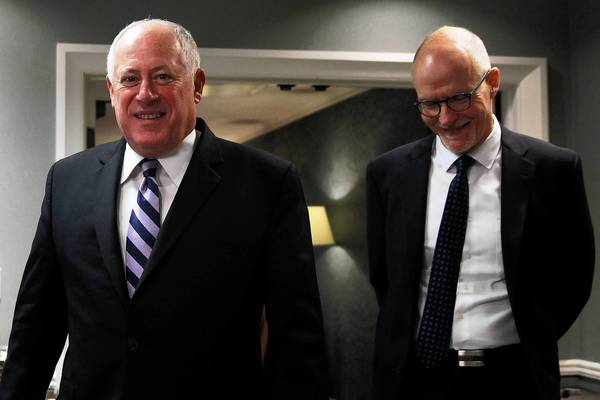 Democratic Gov. Pat Quinn, left, named former Chicago Public Schools CEO Paul Vallas as his running mate last week, a move that could alienate teachers unions.