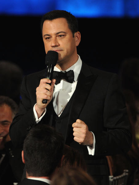 TV host Jimmy Kimmel.