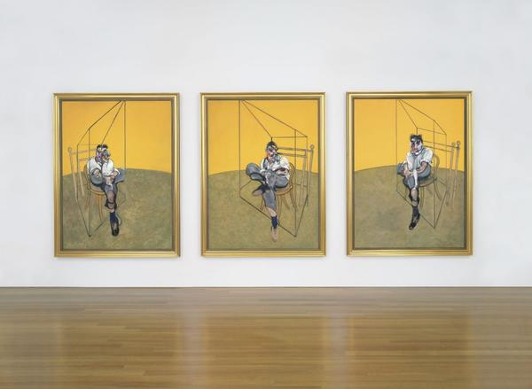 "Francis Bacon's ""Three Studies of Lucian Freud"" broke auction records for garnering a price tag of about $142.4 million."