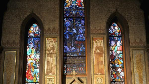 St. Mary's stained glass windows [Pictures]