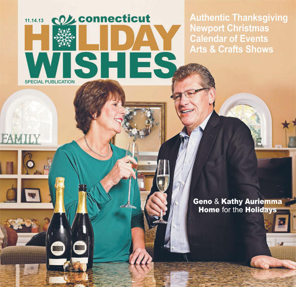 Holiday Wishes 2013: Geno and Kathy Auriemma Celebrate At Home