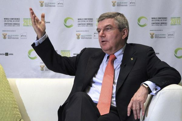 IOC President Thomas Bach said he does not think Armstrong's lifetime ban should be lessened, even if the disgraced cyclist cooperates with officials digging into cycling's troubled past.