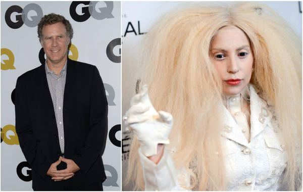 GQ magazine's 2013 'Men of the Year' list includes Will Ferrell. Lady Gaga will reportedly front for Versace's spring ad campaign.