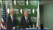 Gov. Quinn Introduces Lt. Gov Running Mate, Paul Vallas