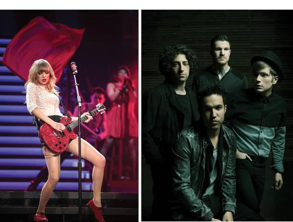 Taylor Swift, Fall Out Boy