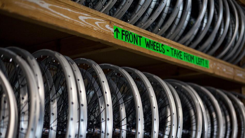 Bikewarehouse.com Divvy Bike warehouse tour
