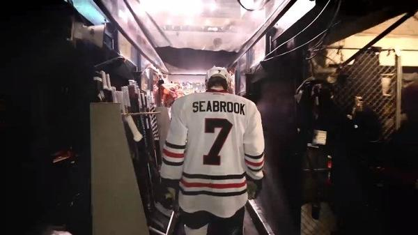 "The Blackhawks released a preview of the documentary ""17 Seconds"" on Wednesday."