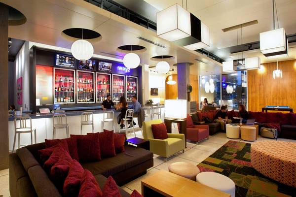 Have drinks, will travel: Aloft's W XYZ Bar serves it up swanky.