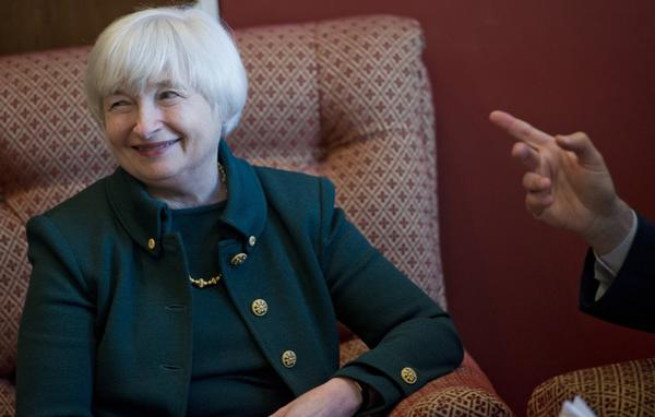 Janet Yellen, nominee for Federal Reserve chair, is shown earlier this month.
