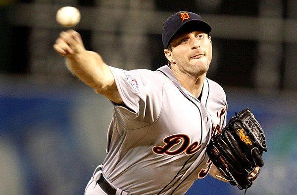 Tigers starter Max Scherzer went 21-3 this season with a 2.90 earned-run average.