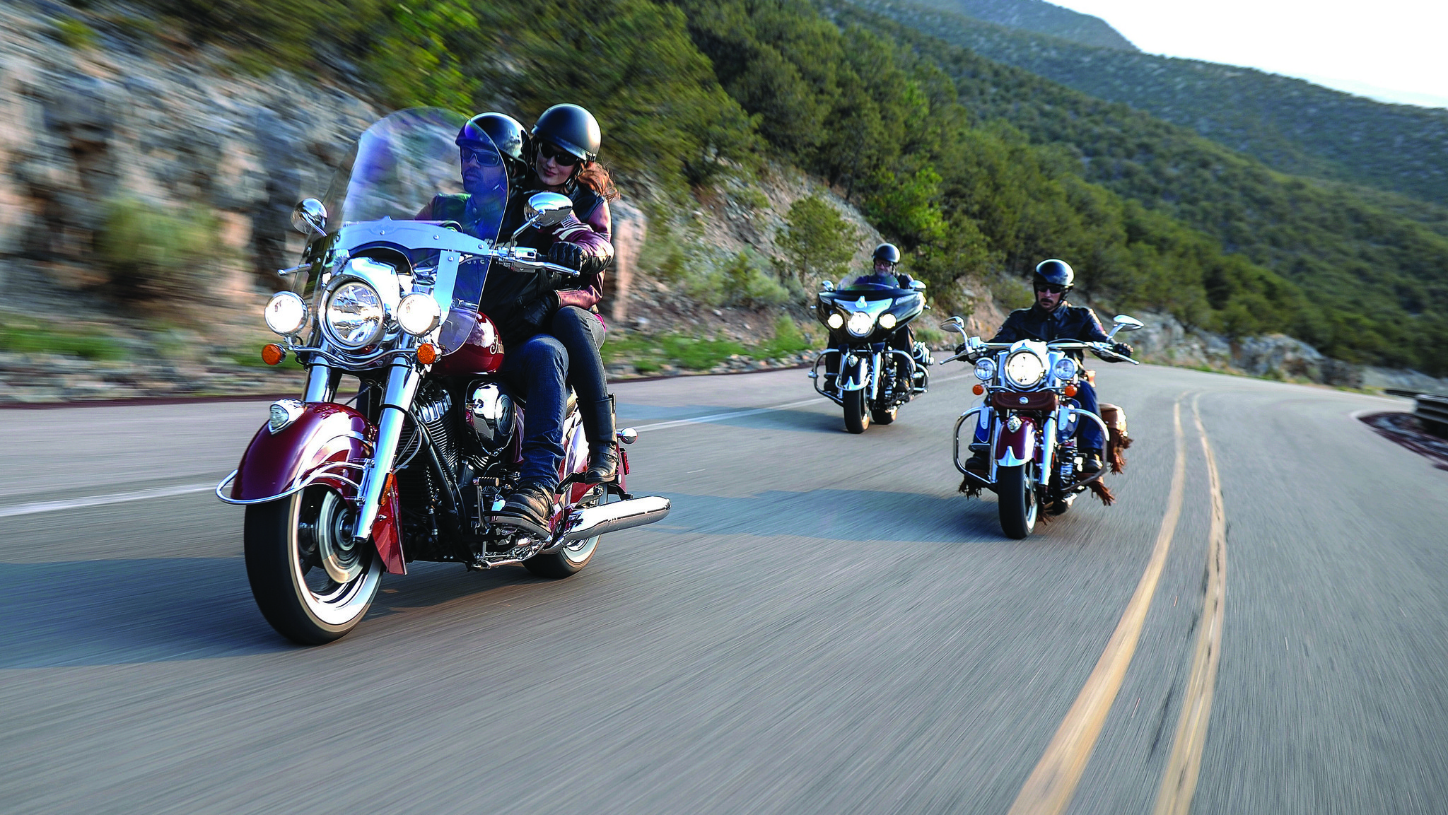 Indian Motorcycle Rides Again