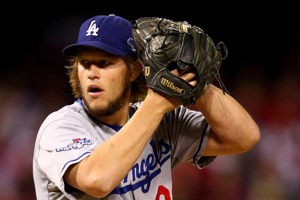 Los Angeles left-hander Clayton Kershaw captures his second National League Cy Young Award in three years.