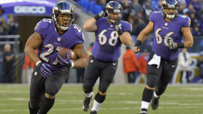 Ray Rice remains optimistic the running game will improve