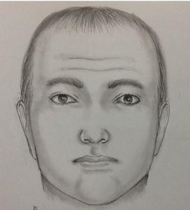 Sketch of a man who police say tried to kidnap a 13-year-old girl in Venice.
