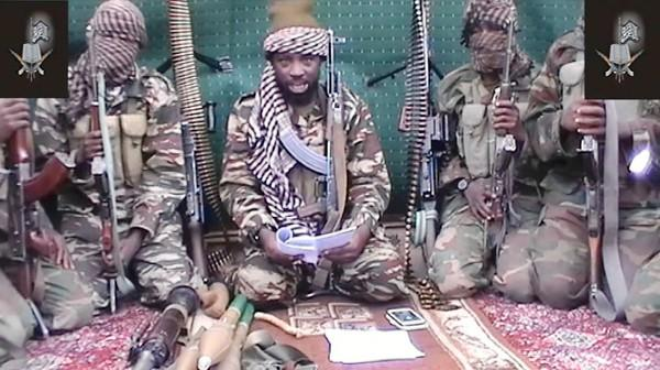 An image taken from video shows a man claiming to be the leader of the Nigerian Islamist militant group Boko Haram, Abubakar Shekau.
