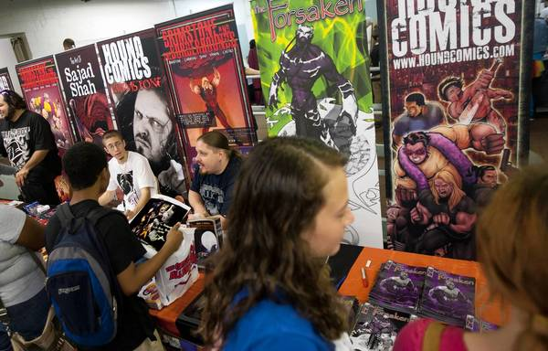 Swarms of comic book fans are expected for the Great Allentown Comic Con at Merchants Square Mall in Allentown Saturday.